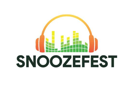 Logo for dance party 'Snoozefest'