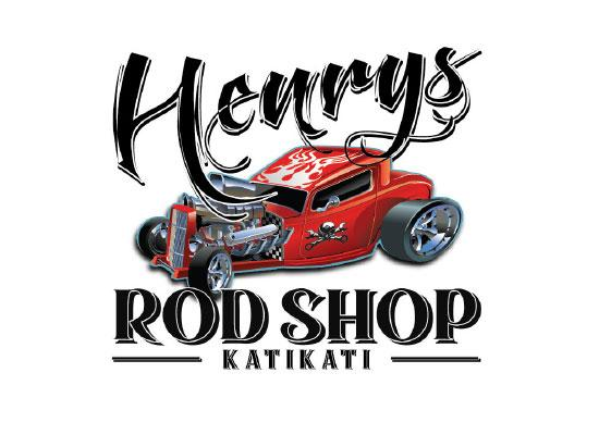 Henry's Rod Shop logo
