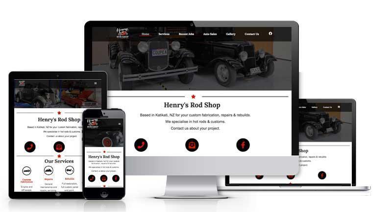 Henry's Rod Shop
